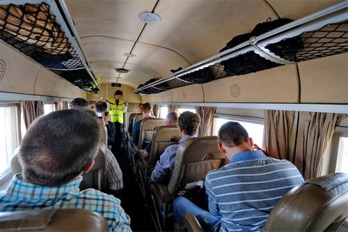 Салон Юнкерса-52 авиакомпании DLBS