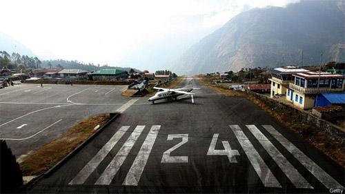 ВПП в Гималаях