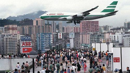 Посадка в Гонконге