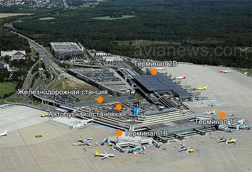 Аэропорт Кельн/Бонн имени