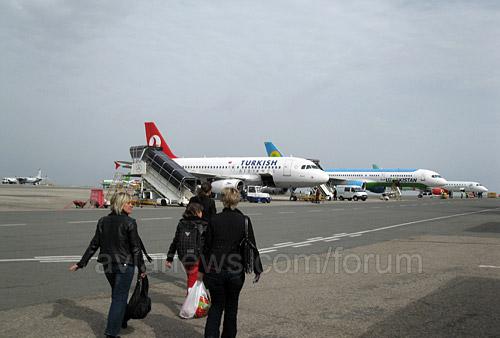 Аэропорт Симферополь входит в