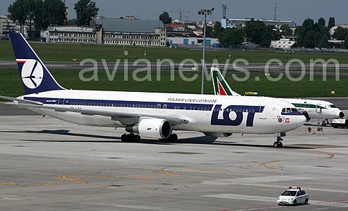 Польская авиакомпания lot polish airlines polskie
