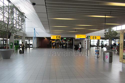 Аэропорт Амстердам Схипхол.