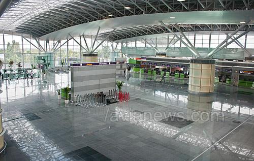терминала Борисполя морили