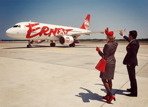 Что известно оновом лоукост Ernest Airlines, который зашел в Украину