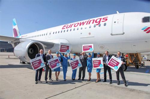 Германский лоукостер Eurowings планирует зайти в Украинское государство со 2016 года