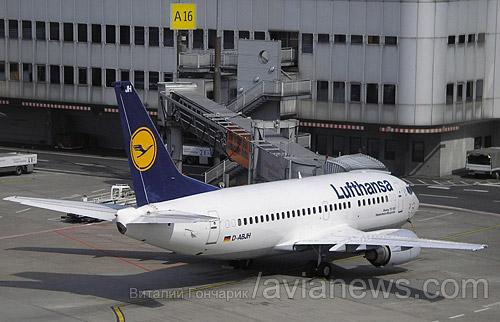 Авиакомпания Lufthansa с 13 января 2014 года прекратит полеты на линии Дюссельдорф - Киев