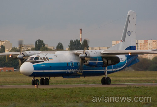 Ан-24 Мотор Сич