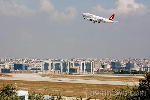 Turkish Airlines начнет летать изХарькова
