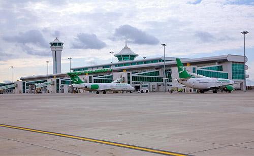 Самолеты авиакомпании Туркменские авиалинии