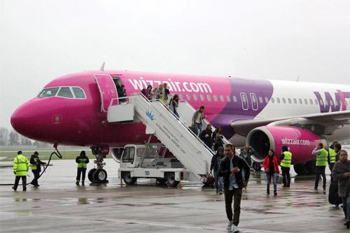 Wizz Air запускает очередной рейс из государства Украины