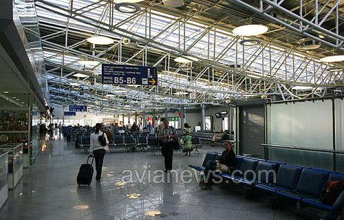 Терминал B в аэропорту Борисполь
