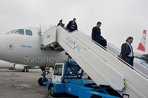 В первом квартале 2014 года аэропорт Борисполь увеличил пассажиропоток на 17% до 1 млн. 456,8 тыс. человек