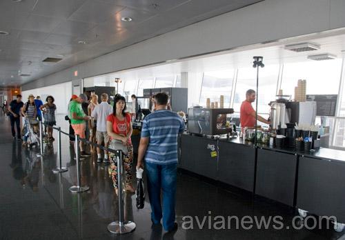 Действующий пункт общепита в аэропорту Борисполь