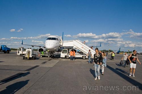ВБорисполе уменьшили размер сборов заобслуживание самолетов
