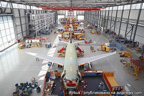 Airbus обошел Boeing почислу полученных заказов насамолеты в2017 году