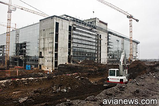 Аэропорт донецк строительство нового