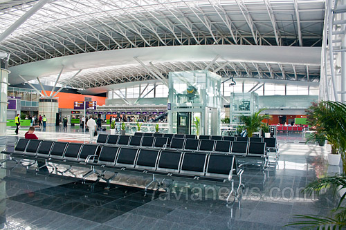 в аэропорту Борисполь.