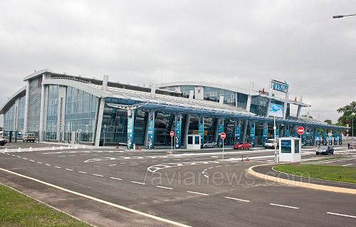 Новый терминал аэропорт Киев