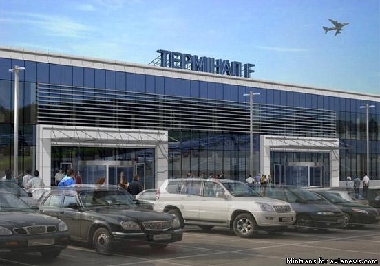 В аэропорту борисполь визуализация