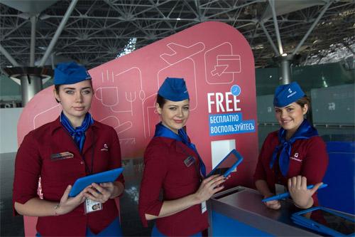Пассажиры внутренних и международных рейсов, вылетающих из Внуково, теперь могут бесплатно воспользоваться планшетным компьютером в ожидании посадки в рамках проекта Aeroplanshet