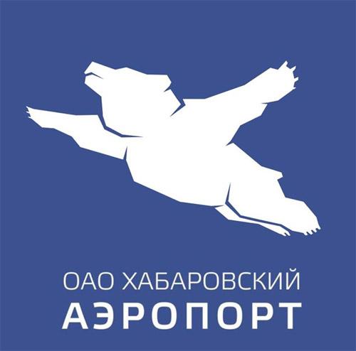 Новый логотип аэропорта Хабаровск