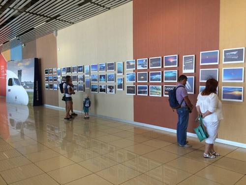 Фотовыставка в аэропорту Кольцово