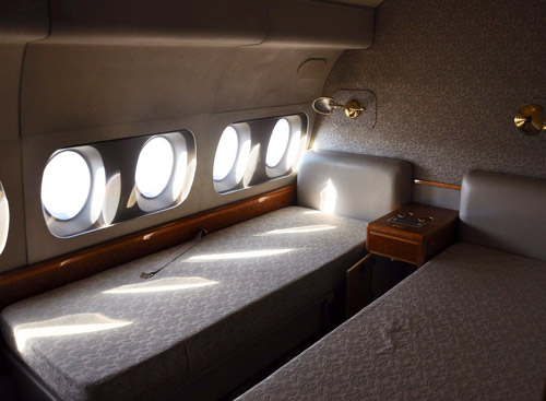 Кровать для отдыха во время долгих перелетов