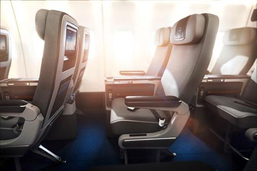Авиакомпания Lufthansa с ноября 2014 года введет новый класс обслуживания на дальнемагистральных рейсах. Изначально премиальный экономический класс появится на самолетах Boeing 747-8