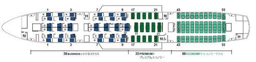 Japan Airlines (JAL) в декабре начнет эксплуатацию самолетов Boeing 787 Dreamliner в специальной компоновке JAL SKY SUITE 787, которая предусматривает перевозку меньшего числа пассажиров, но с большим комфортом