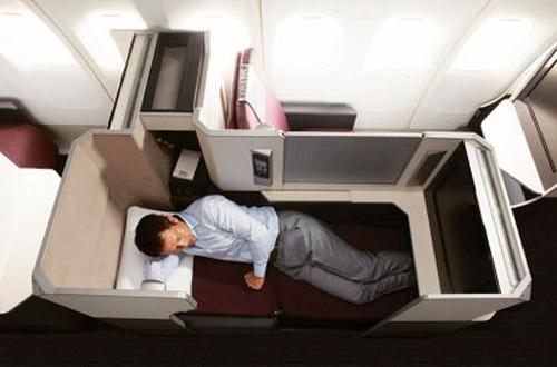 Бизнес класс в Boeing 787 JAL
