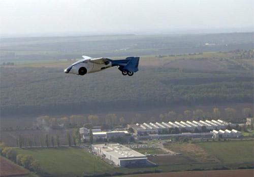 Aeromobil 3.0 в полете