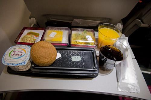 Питание на рейсе Доха-Киев Qatar Airways