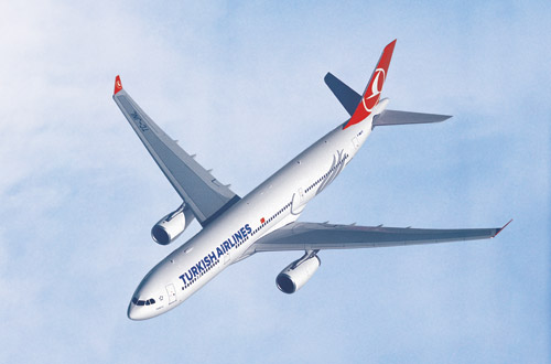 Самолет Turkish Airlines A330