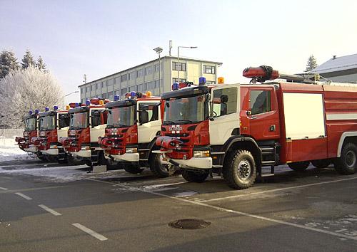 фото пожарные машины россии
