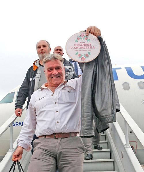 Пассажир первого рейса Turkish Airlines Стамбул Запорожье