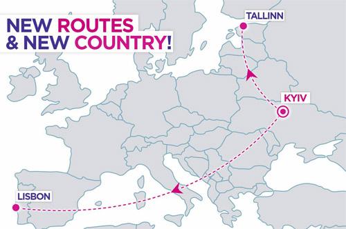 Wizz Air запустит прямые рейсы из Киева в Лиссабон и Таллинн|В дороге - сайт о путешествиях и приключениях