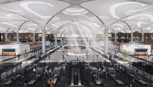 Терминал в новом аэропорту Стамбула