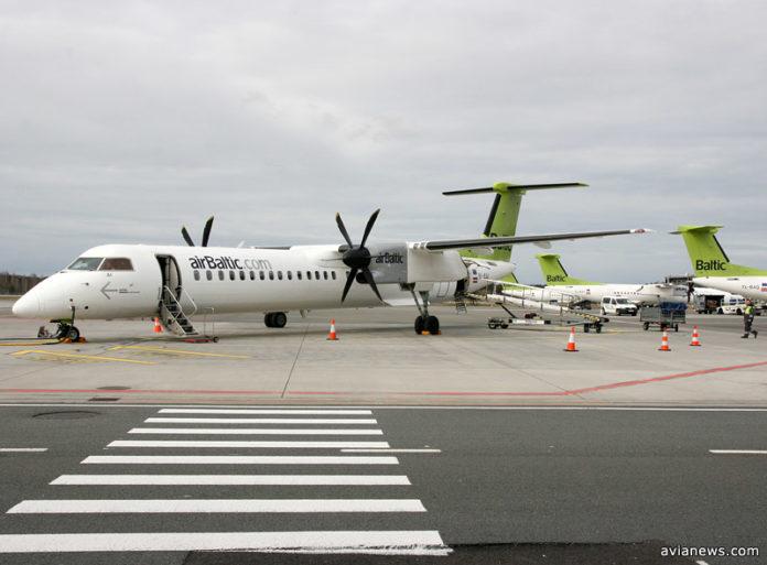 Самолеты airBaltic