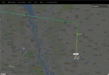 Самолет Ryanair сел в аэропорту Борисполь