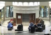Бездомные в терминале аэропорта Атланта