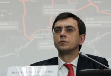 Министр инфраструктуры Украины Владимир Омелян. Фото: Мининфраструктуры