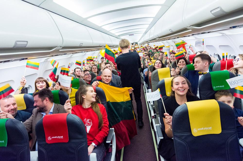 На борту специального рейса S5 100