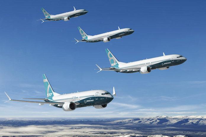 Самолеты семейства Boeing 737 MAX