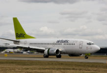 Boeing 737 авиакомпании airBaltic