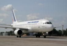 Airbus A320 авиакомпании Air France