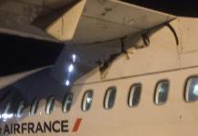 Трещина в фюзеляже ATR 42-500 HOP!