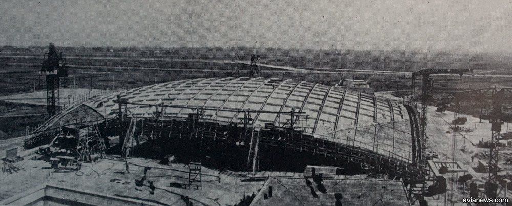 Купол терминала Б