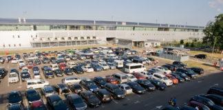 Стоянка в аэропорту Борисполь рядом с терминалом D