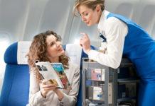 Торговля Duty-free на борту самолета